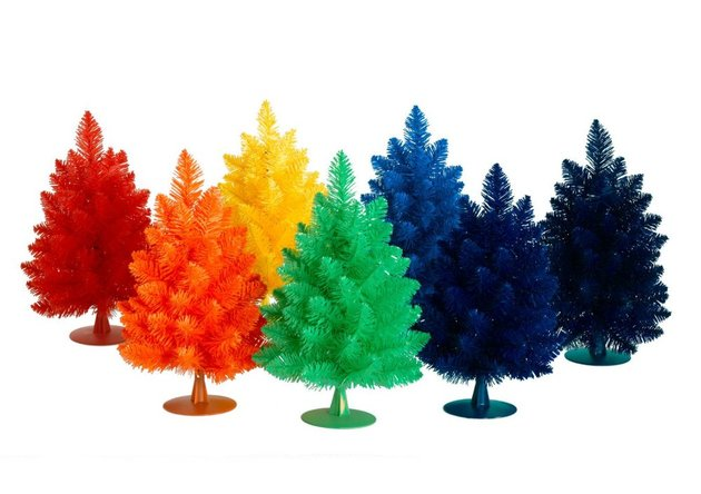 colors you%20never%20 expected for a christmas tree 7 thumb 630xauto 48971 Unusual Christmas Tree Colors to Brighten Your Holiday
