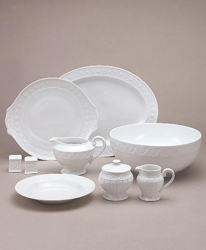 bernardaud louvre dinnerware 1 French Limoges Porcelain Dinnerware   Bernardaud Louvre Dinnerware