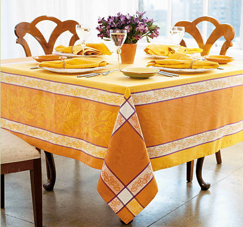 bodrum linens jardin de provence tablecloth