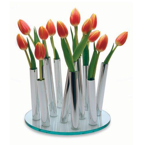 View In Gallery Bouquet Flower Vase Philippi Design Unique Table  Centerpiece Modern Flower Vase Bouquet