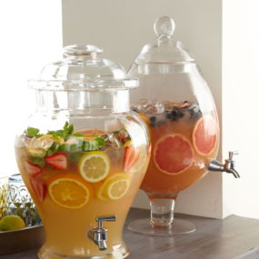 Cheers to these Chic Clear Drink Dispensers