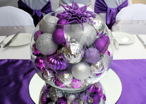 colorful christmas tabletop decor ideas 19