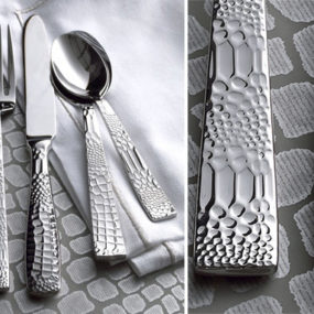 Crocodile Flatware by Ricci Argentieri from Neiman Marcus