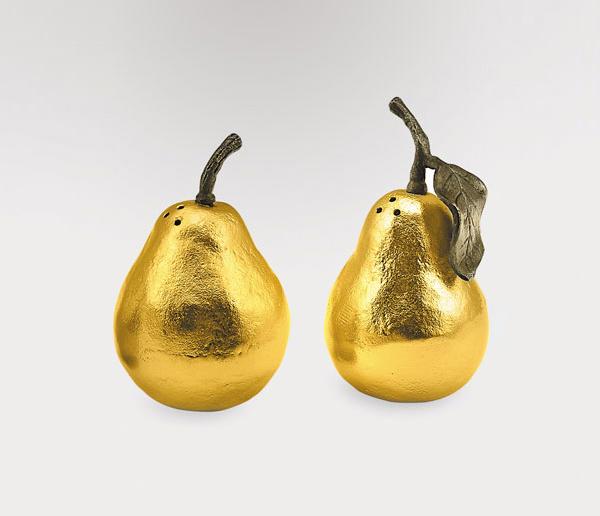 decorative salt pepper shakers pear neiman marcus 1 Decorative Salt & Pepper Shakers Pear from Neiman Marcus