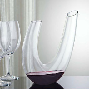 Designer Wine Decanters – best entertaining glass decanters