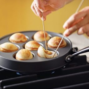 Ebelskiver Filled Pancake Pan and Recipes from Nordic Ware