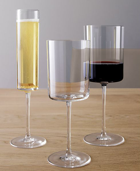 edge wine glasses crate barrel 1 Edge Wine Glasses by Crate&Barrel