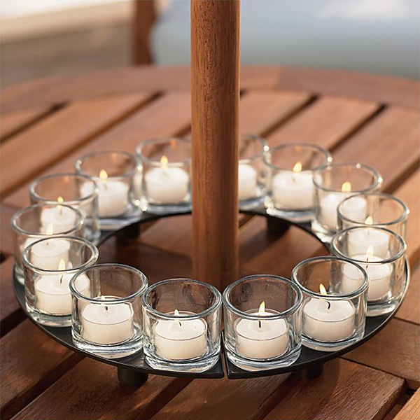Encore Candle Holder Centerpiece Tealight Candleholders