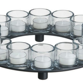 Encore Candle Holder Centerpiece | Tealight Candleholders by Crate & Barrel – create your own design!