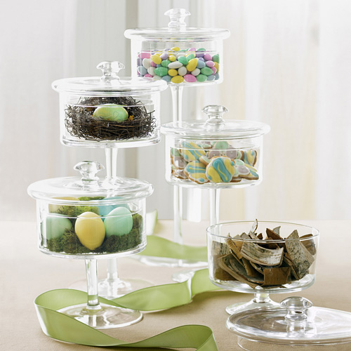 glass pedestal candy jar Glass Pedestal Candy Jar