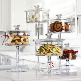 Glass Pedestal Candy Jar