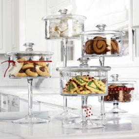 Glass Pedestal Candy Jar