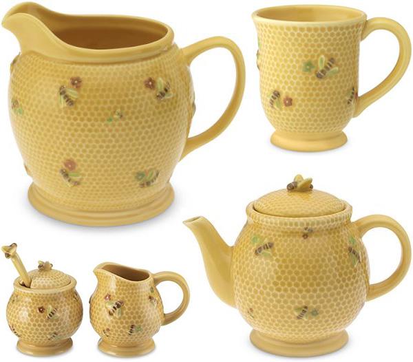 honey bee tableware williams sonoma Honey Bee Tableware and Bee Tablecloth by Williams Sonoma