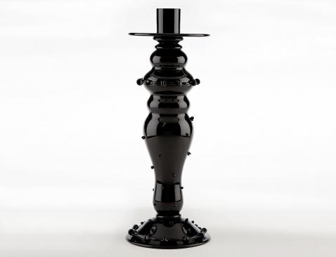 juliska black glass tableware 5