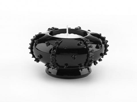 juliska black glass tableware 7