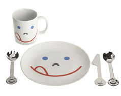 kids mono set Child Size Tea Set   Les Girls A Paris Snack & Tea set