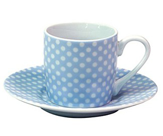 konitz polk dot cup 1 Polka Dot Espresso Cup by Konitz   dot pattern cups and saucers