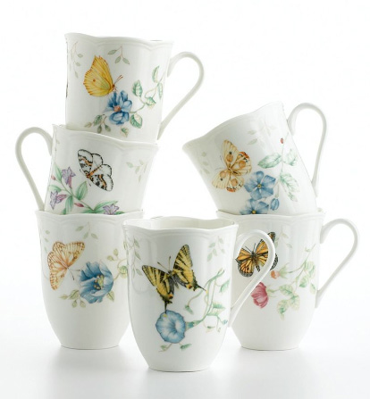 lenox butterfly meadow mugs Butterfly Dinnerware Set   Lenox Butterfly Meadow Dinnerware