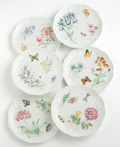 lenox butterfly meadow plates Butterfly Dinnerware Set   Lenox Butterfly Meadow Dinnerware