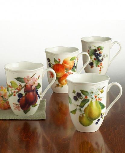 lenox orchard in bloom dinnerware mug Fruit Pattern Dinnerware   new Lenox Orchard in Bloom Dinnerware at Macys
