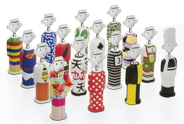 marry sandro corkscrew alessandro mendini 2 Merry Sandro Corkscrew by Alessandro Mendini from Alessi