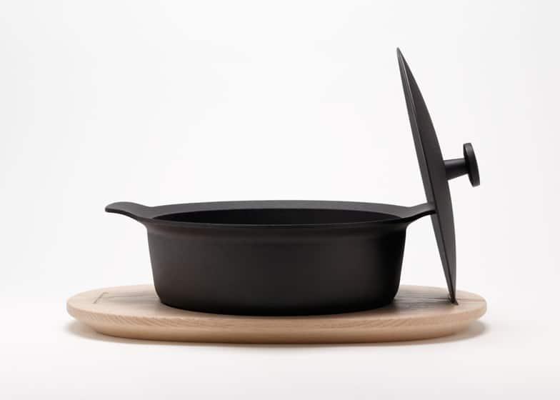 Palma Cast Iron Cookware By Japer Morrison For Oigen