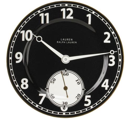 ralph lauren clock plates 1 Ralph Lauren Clock Plates