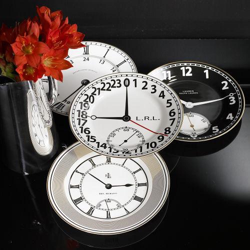ralph lauren clock plates Ralph Lauren Clock Plates