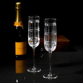 Ralph Lauren Champagne Flutes – Foster Flutes Set