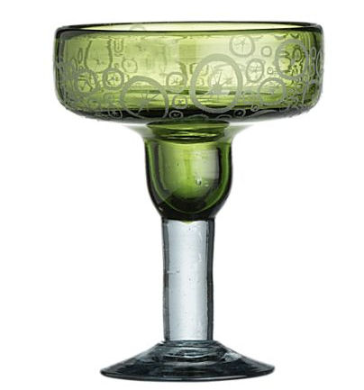 slice margarita glass crate %26 barrel New Slice Margarita Glasses from Crate & Barrel make you thirsty for more