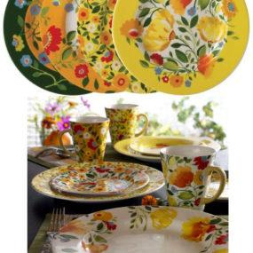 Spode Kim Parker Buttercup Faire Casual Dinnerware