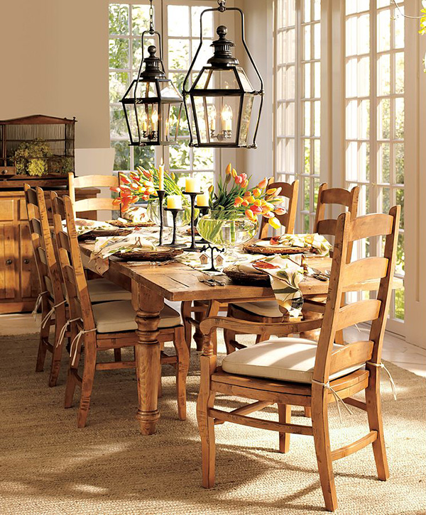 spring table setting ideas sparrow pottery barn 1 Spring Table Setting Ideas   Bird Tablecloth and Bird Tableware
