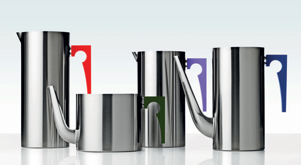 stelton coffe tea pots cylinda 2 Modern Coffee Pots and TeaPots by Paul Smith for Stelton