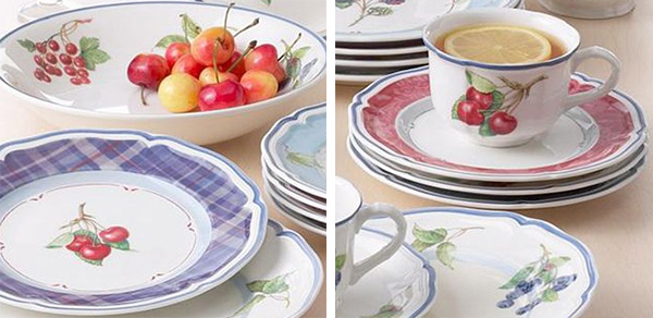 villeroy boch cottage inn dinnerware 1 Cottage Style Dinnerware from Villeroy \u0026 Boch Cottage Inn collection : eclectic dinnerware - pezcame.com