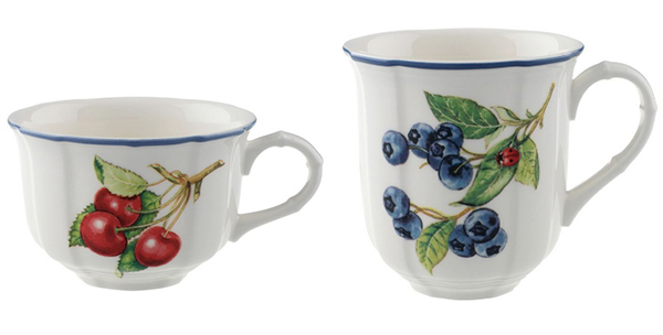 villeroy boch cottage inn dinnerware cups