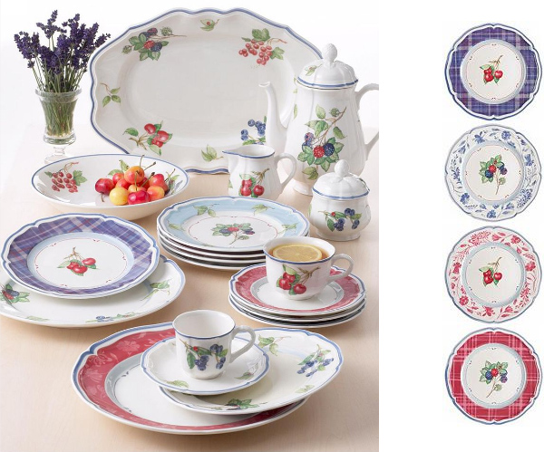villeroy boch cottage inn dinnerware Cottage Style Dinnerware from Villeroy & Boch   Cottage Inn collection