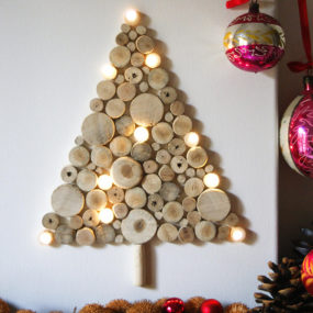Wall Christmas Tree Ideas – Top 20 for 2012