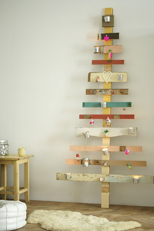 wall christmas tree ideas 2 Wall Christmas Tree Ideas   Top 20 for 2012