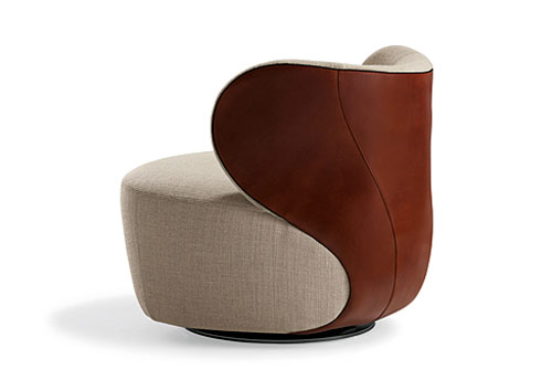 Exceptional Elegant Armchair Bao By Walter Knoll
