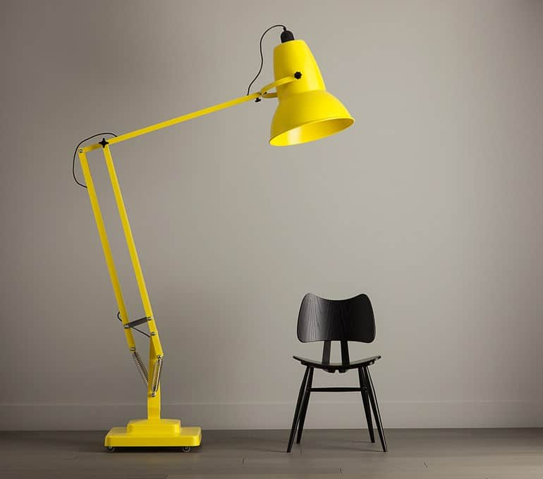 Giant Adjustable Floor Lamp with Dimmer by Anglepoise