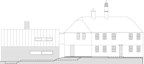 17th century farmhouse extension 17