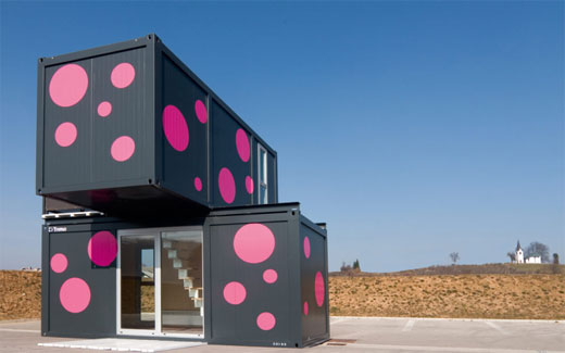 Compact Container Prefab Home – ConHouse from Slovenia