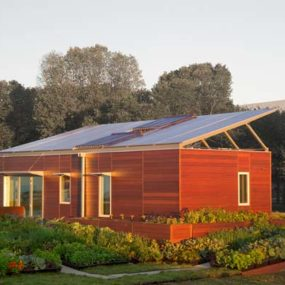 Sustainable Zero Energy House Design
