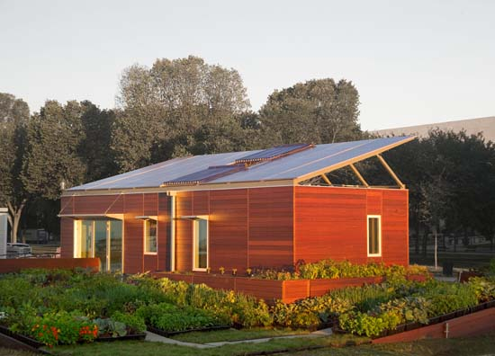Beau Sustainable Zero Energy House Design