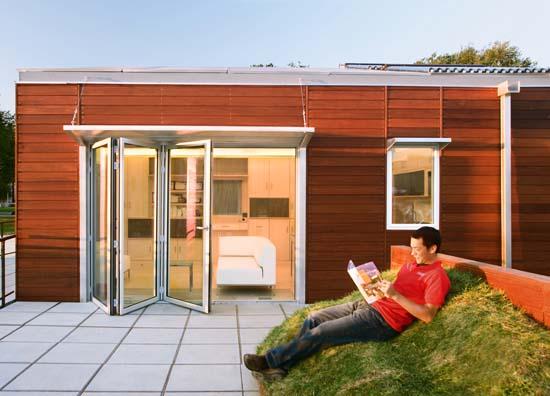 zero energy home design. 2005 solar decathlon house 2 Sustainable Zero Energy House Design