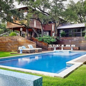 Balinese Influenced Modern Texas Home With Zen Atmosphere