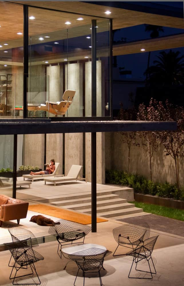 View In Gallery Concrete Residential Architecture Designed Spacious 6 Outdoor Livng