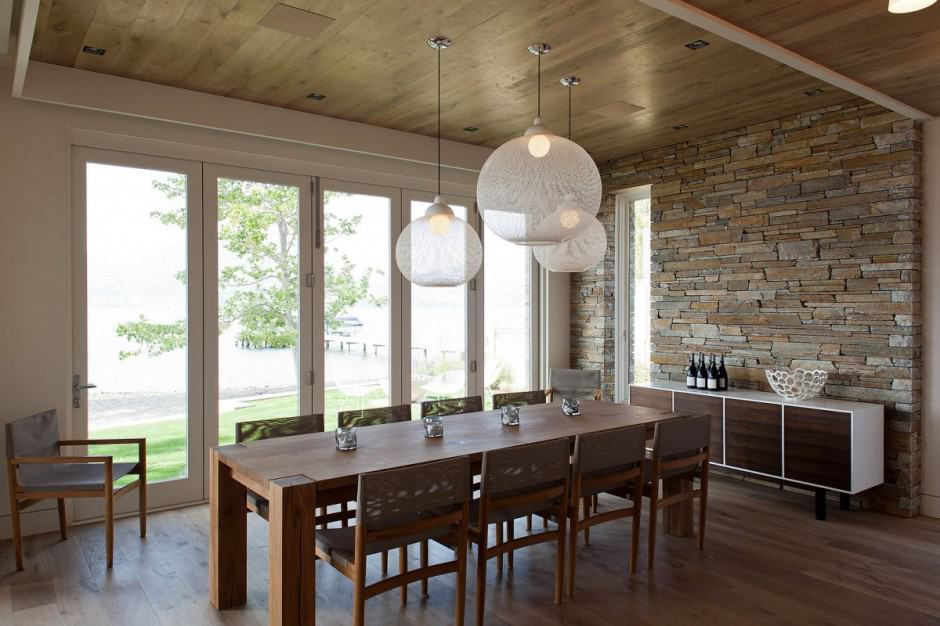 view in gallery - Lights For Over Dining Table