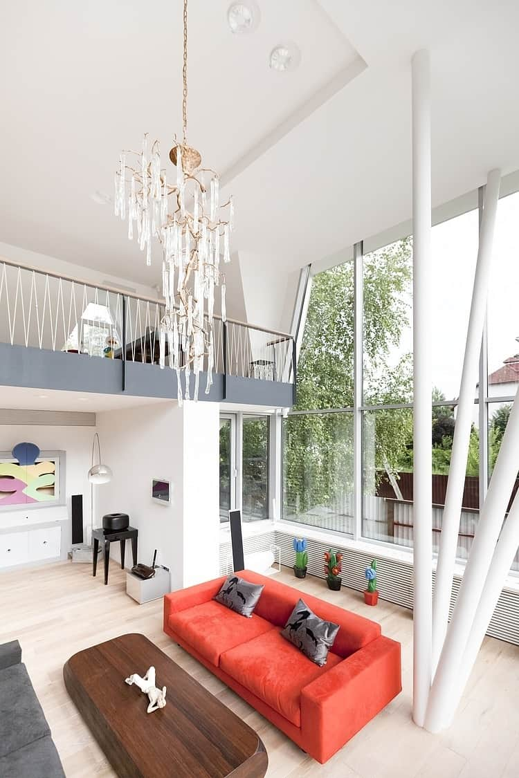 View In Gallery Renovation Redefines Home Stunning Staircase Open Plan 3