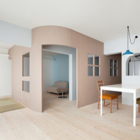 Adorable Doll-House like Interiors by Sinato